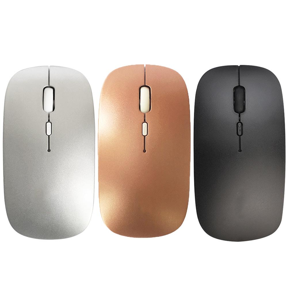 1pc Rechargeable Wireless Mouse USB Fast Charging Power-saving Mute Desktop Notebook Computer Gaming Bluetooth Mouses