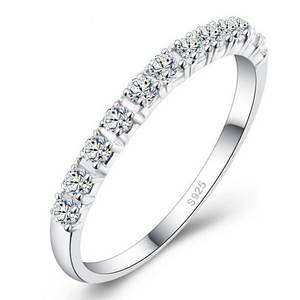 Hua Ming Ce Wedding size CZ Plated Bands Jewelry for Women