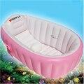 2016 Portátil Banheira Crianças Crianças Espessamento Bacia Crianças Banheira Inflável Banho Do Bebê de Natação Crianças Piscina Cadeira de Banho de Assento