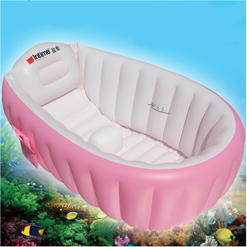 2016 Portable Inflatable Baby Bath Kids Bathtub Thickening