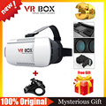 Google Cardboard VR BOX 1.0 Version Goggles VR Helmet Virtual Reality Glasses Xiao zhai BOBO Z4+Bluetooth Remote Control Gamepad