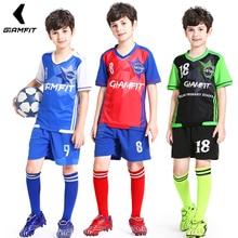 Купить с кэшбэком Soccer Jersey 2018 Survetement Enfant Football Jersey Kids Team Training Uniform Breathable Sports Clothing Custom Jersey Soccer