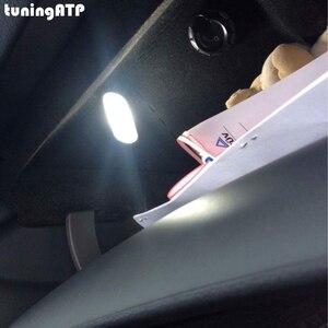 Светящийся модуль для перчаток Volkswagen Beetle Bora Jetta IV Caddy Golf IV Passat B5.5 Touran Touareg, яркий белый светодиодный футляр