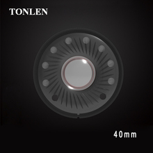 TONLEN Subwoofer Headphone Speakers Accessories 40mm Headset Speaker Full Frequency Bass Headphone Speakers Unit 2pcs 2pcs new aucharm 8f 1 8inch full frequency speaker driver unit casting aluminum frame wool leather surround 8ohm 20w d210mm