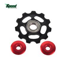 Hot Road Bicycle MTB Mountain Bike Rear Derailleur Aluminum Alloy 11 Teeth Guide Roller Idler Bearing Pulley Jockey Wheel Parts