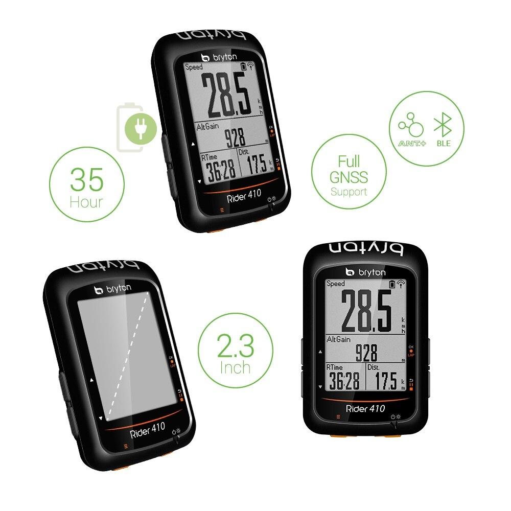 2.3/ Bryton Rider 410E GPS Cycling Black