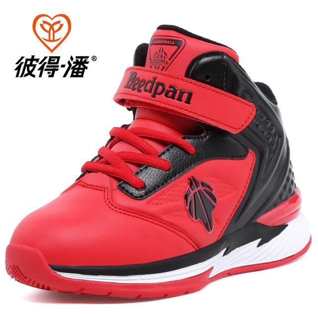 Niños Zapatos de Baloncesto Antideslizante Muchachas de Los Muchachos A Prueba de Golpes Cesta Enfant Chaussure Enfant Embroma las Zapatillas de deporte de China Tienda Online