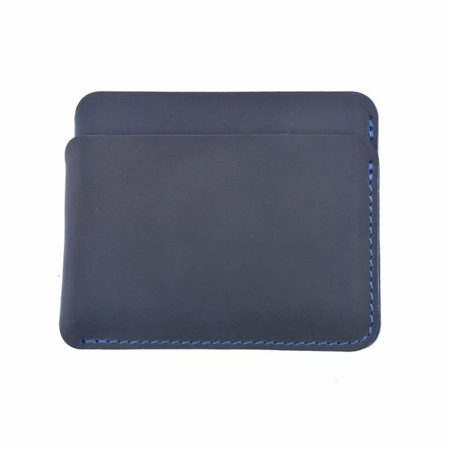 Genuine leather handmade business card holder mens wallet money id genuine leather handmade business card holder mens wallet money id credit cards holdercase simple reheart Image collections