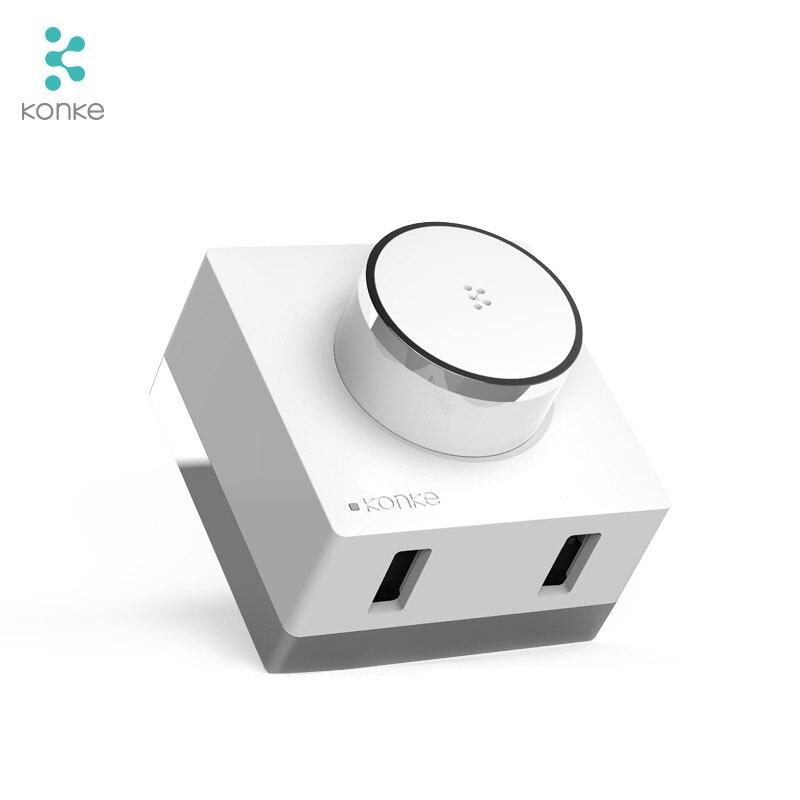 Konke Multifunktionale Gateway Hub zigbee Temperatur Feuchtigkeit Sensor Menschlichen Körper Sensor Drahtlose Schalter Smart Home Kit für xiaomi - 4