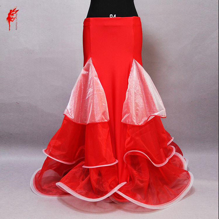 Professional Belly Dance Costumes Luxury Belly Dance Skirt For Girls Wave Competition Skirt Women Skirt On The Stage