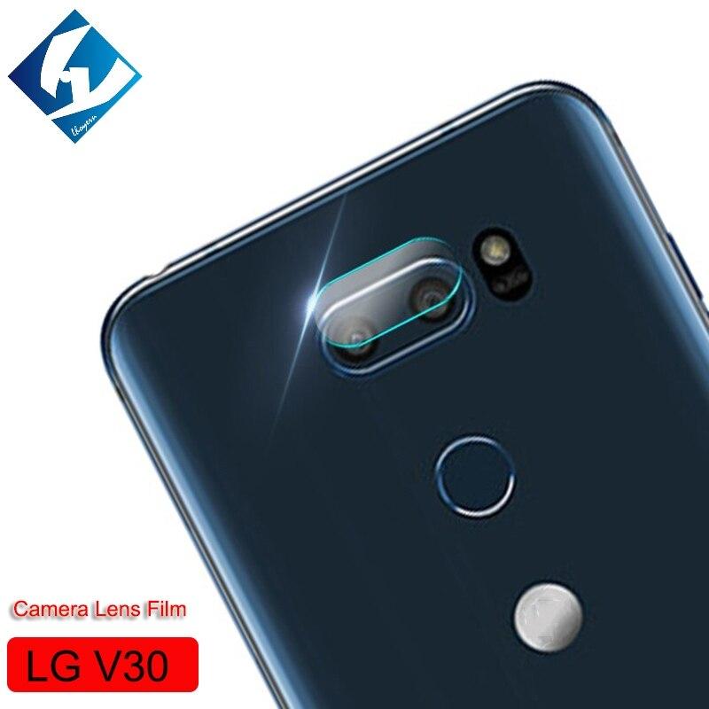 Lhoyern Back Camera Lens Protective Protector Cover For LG G5 G6 V30 G 5 6 V 30 Clear Tempered Glass