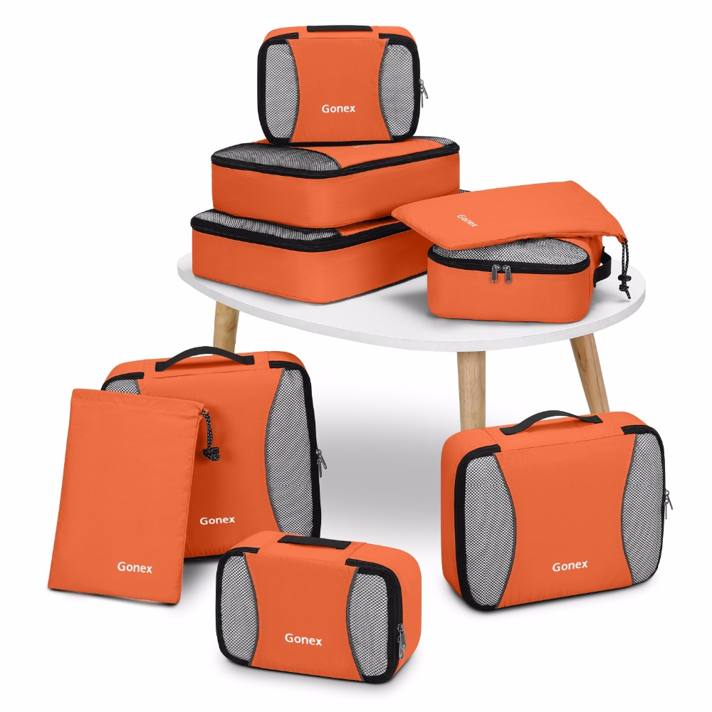 HTB12GD_KMHqK1RjSZFkq6x.WFXa7 Travel Packing Cubes set (Gonex)