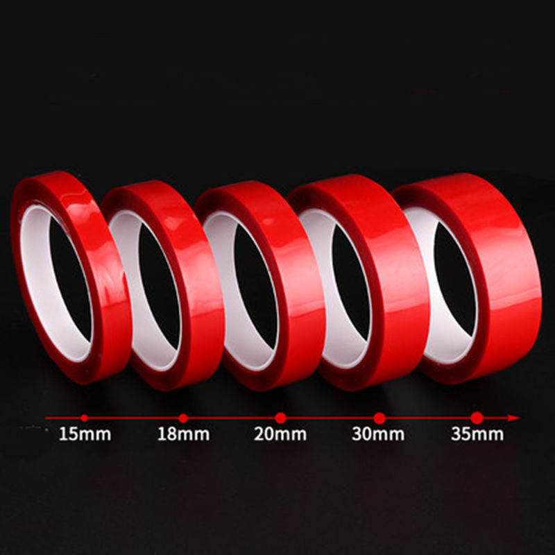 Waterproof 5-35mm Transparent Silicone Double Sided Tape Sticker For Car High Strength High Strength No Traces Adhesive StickerWaterproof 5-35mm Transparent Silicone Double Sided Tape Sticker For Car High Strength High Strength No Traces Adhesive Sticker