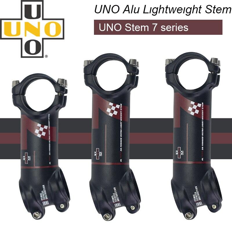 UNO 7 MTB Bike Stem  -7 17 Degree Kalloy Ultralight Alu 7050 31.8mm 60 70mm 80mm 90 Mm 100 110 120 130mm Bicycle Stem King Alloy