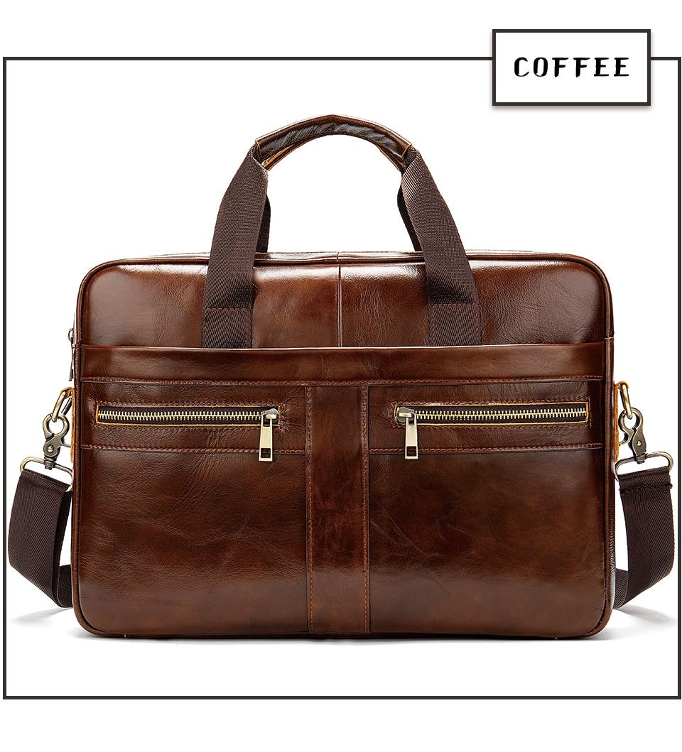 HTB12GECa.D1gK0jSZFGq6zd3FXai WESTAL Bag men's Genuine Leather briefcase Male man laptop bag natural Leather for men Messenger bags men's briefcases 2019
