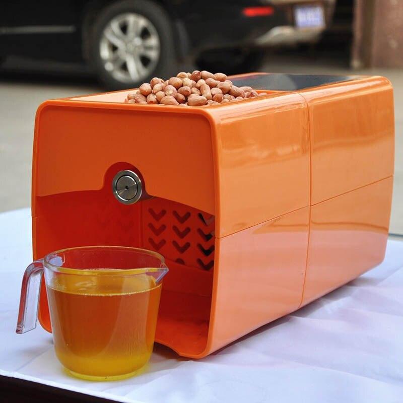 自動小型ピーナッツオイルプレス機油大豆押え 220 V 200 ワットステンレス鋼ブランニュー家庭用