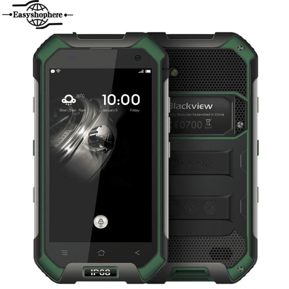 Original 4 7 Blackview BV6000S Smartphone 4G FDD LTE Android 6 0 Quad Core 2GB 16GB
