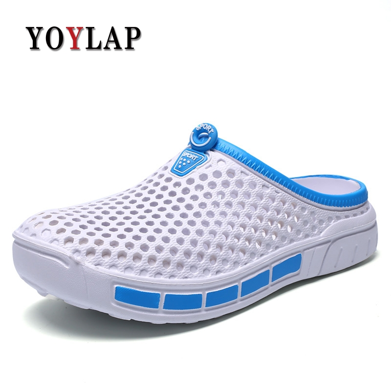 Summer Slippers Women 2018 New Hollow Out Breathable Beach Sandals Shoes Women Casual Slip-on Flats Flip Flops djsunnymix 2018 summer slippers men hollow out breathable beach flip flops unisex casual slip on flats sandals men shoes size 45