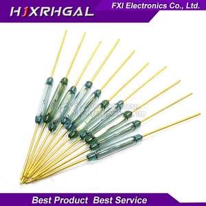 5pcs MKA14103 reed switch, magnetically controlled magnetic switch 2X14MM normally open(China)