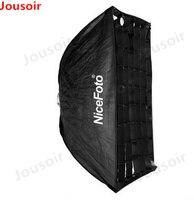 Honeycomb 30*150 Grid Umbrella Frame Photo Studio Rectangle Softbox Soft Box For All Strobe Flash Lighting CD50