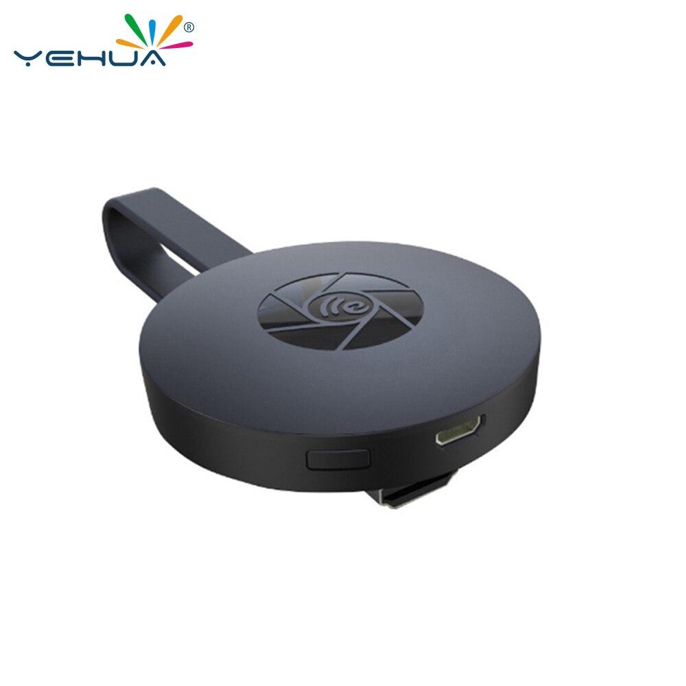 Yehua G2 TV Stick Dongle Miracast Chrom cast HDMI WiFi Wireless Display Receiver Anycast Google Chromecast Mini Pc Android