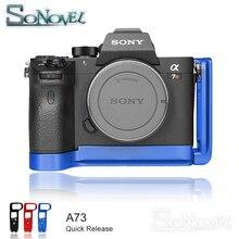 A7M3 Quick Release L/ยึดสำหรับ Sony A7III/A7RIII/A9 Quick Release Baseplate & แผ่นด้านข้าง