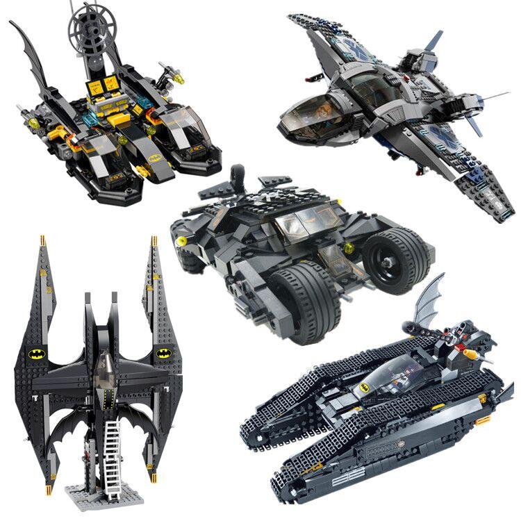 Decool Building Blocks Super Heroes Batman Batmtank Batcoat Chariot The Tumbler Batmobile Batwing Joker Bricks Toys For Children