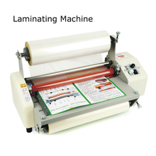 Hot roll laminating machine A3 Four Rollers Laminator laminator High-end speed regulation  thermal laminator 110V/220v 1PC 8350T