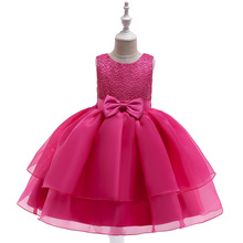 2019 Summer Girls Lace Princess Dress for Wedding Party Children Clothes Girls Elegant Ball Gown Dancing Dress for Birthday цена 2017