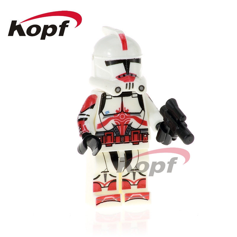 PG775 Star Wars Imperial Army Military Stormtrooper Clone Trooper Commander Neyo Yoda Building Blocks Action Children Toys Gift