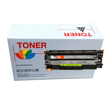ce285a 85a 285a Black Toner Cartridge for Compatible HP Laserjet Pro 1102 M1132 M1212 M1132 P1005 P1006 P1102 P1102W Printer image