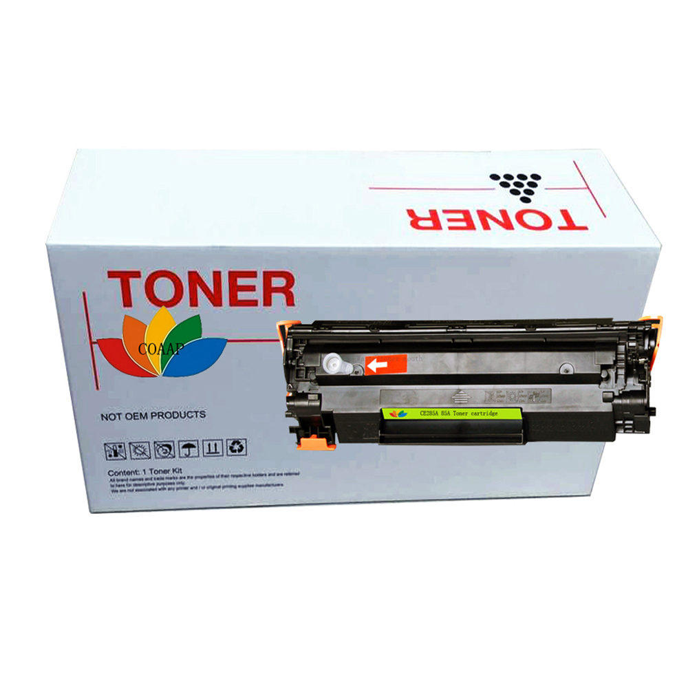 ce285a 85a 285a Black <font><b>Toner</b></font> Cartridge for Compatible <font><b>HP</b></font> Laserjet Pro 1102 M1132 M1212 M1132 P1005 <font><b>P1006</b></font> P1102 P1102W Printer image