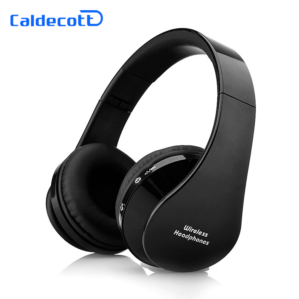 Caldecott Stereo audifonos Wireless Headphones fone de ouvido Bluetooth Earphone Bass Headsets auriculares With Mic for iphone 7 hestia ex 01 bluetooth earphone car headphones with microphone auriculares wireless stereo headset audifonos for iphone 6 7 sony