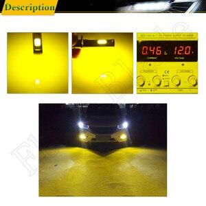 Image 5 - 2Pcs H1 Auto LED Fog Lights High Power COB 80W Yellow Golden 3000K Daytime Running Light DRL Driving Lamp Bulb  12V 24V 30V AC