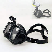 Scuba Diving Mask Snorkel Swimming Tempered Glasse For Sony HDR AS200V AS300R AS100V FDR X3000R HDR AS50 Sport Action Cam