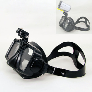 Scuba Diving Mask Snorkel Swimming Tempered Glasse For Sony HDR-AS200V AS300R AS100V FDR-X3000R HDR-AS50 Sport Action Cam(China)