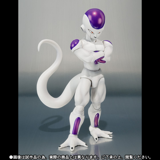 free shipping dt datong model shf dragon ball z super saiyan frieza figure freeza final status with stand