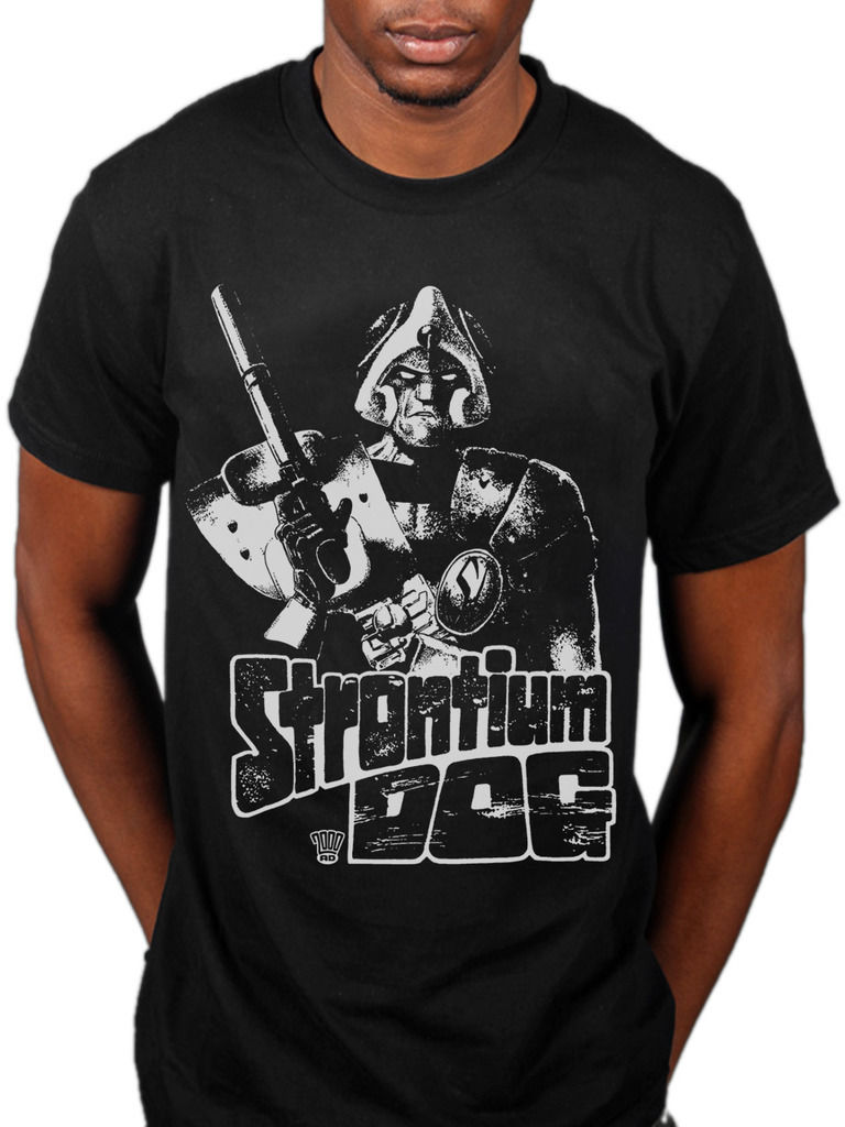 2000AD Strontium Dog T-shirt Unisex Sci-Fi Comic Judge Dredd ABC Warrio New 2018 Summer Style T-Shirt