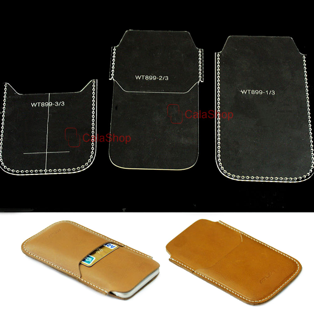 1 Pcs Lot Acrylic Wallet Leather Template Model Handwork Healty Paper Dompet Kertas Craft Pattern Tools Accessory Purse Diy Long Wt899 In Leathercraft Tool Sets From Home