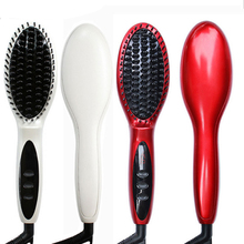 Best Buy 2017 Constant Temperature Hair Brush Fast Hair Straightener Comb hair Electric brush comb Irons Auto Straight Hair Comb brush