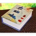 Criativa Casa De Boneca De Madeira Praia Férias de Verão Mar Jornal Livro Diário, Engraçado Brinquedos de Montagem DIY Casa De Boneca com Móveis