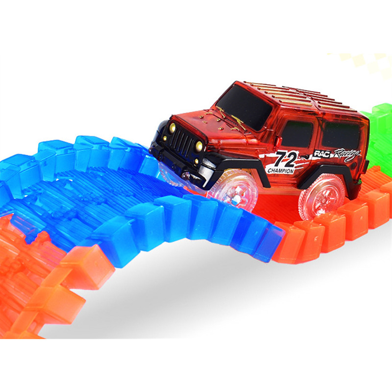 Hot-Sale-Electronics-Car-With-Flashing-Lights-for-Magic-Racing-Glows-Track-Set-Educational-Toys-For-Children-Boys-Birthday-Gift-3