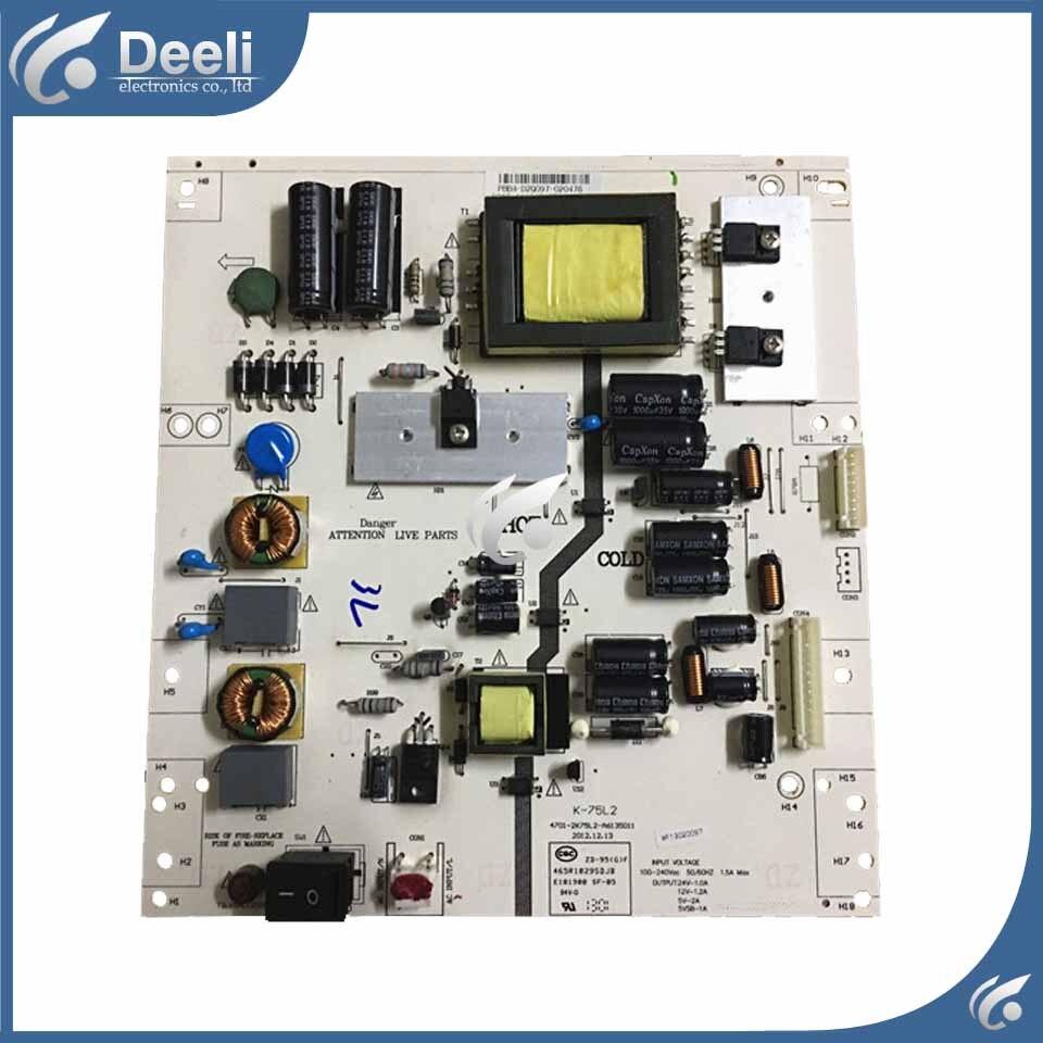 good Working used baord power board K-75L2 4701-2K75L2-A6135D11 465R1029SDJB original used baord la46b610a5r la46b530p7r la46b550k1f power supply board bn44 00265a good working