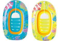 PVC Inflatable Baby Float Children Swimming Ring Baby Floating Boat Summer Beach Toy