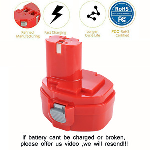 Image 3 - PA14 14,4 V NI MH 3000mAh Ersatz Batterie für Makita Batterie 14,4 V PA14 1420 1422 1433 1434 1435 1435F 192699 A