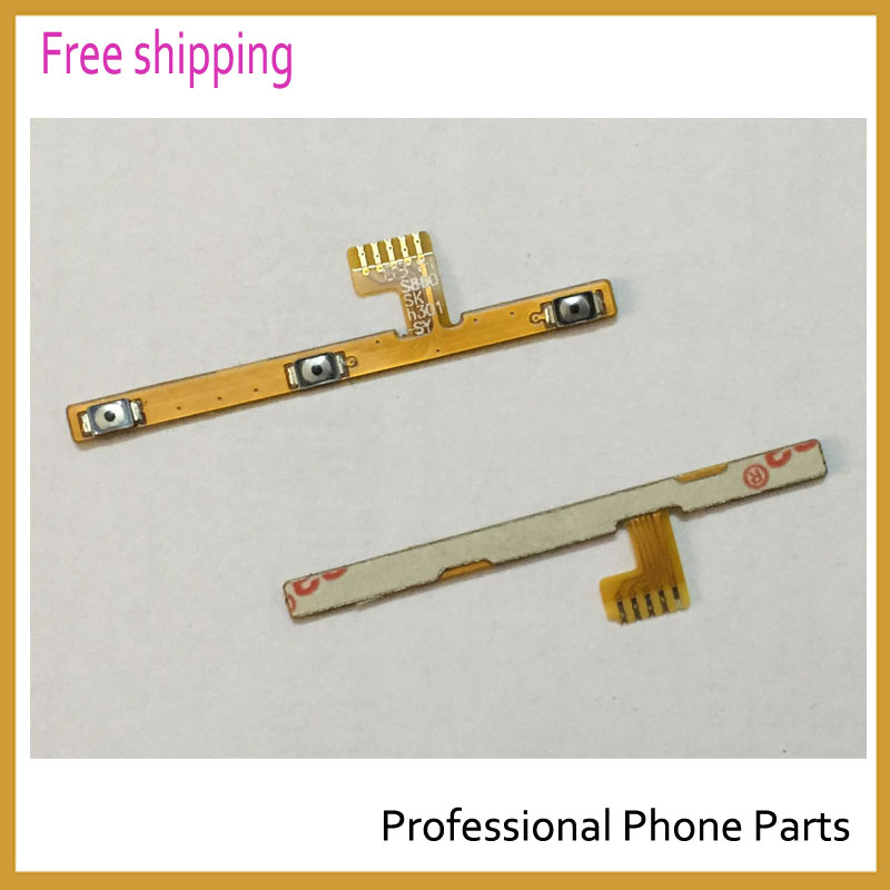 Original phone parts For Lenovo S860 power on/off + Volume Buttons flex cable for repair