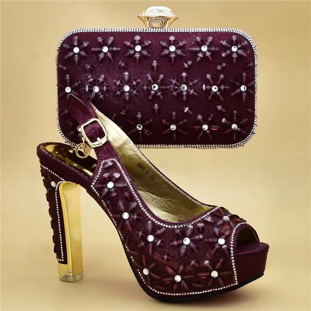 4152c2887c Latest Design Luxury Shoes Women Designers Nigerian Women Party Wedding  Pumps High Heels Fashion Shoes 2019 Bridal Shoes
