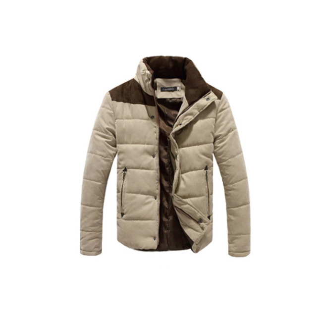 2019 Winter Jacket Men Warm Causal Parkas Cotton Coat Male Outwear Coat Size M-4XL