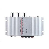 LP 808 2 0 Channel 2X20W RMS Output Power Amplifier Mini Hi Fi Audio Stereo Amplifier