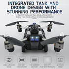 RC TOY JJRC H40WH 2.4G 4CH 6 Axis Wifi Hover RC Quadcopter Drone Tank with 720P Camera